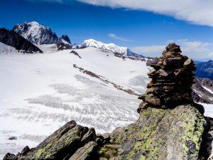 Arête du Génépi · Alpes, Massif du Mont-Blanc, Vallée de Chamonix, FR · GPS 45°59'48.86'' N 6°59'28.40'' E · Altitude 2851m