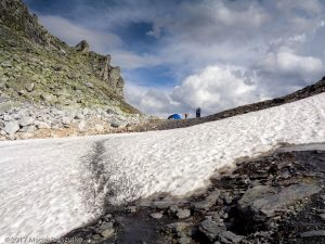 Fenêtre de Ferret · Alpes, Alpes valaisannes, Val Ferret, CH · GPS 45°52'35.09'' N 7°8'41.20'' E · Altitude 2633m
