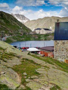 Col Grand Saint Bernard · Alpes, Alpes valaisannes, IT · GPS 45°52'5.57'' N 7°9'50.90'' E · Altitude 2421m