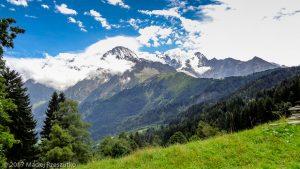 Granges des Chavants · Alpes, Massif du Mont-Blanc, Vallée de Chamonix, FR · GPS 45°53'48.58'' N 6°45'54.73'' E · Altitude 1263m