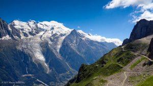 Sentier du Col du Brévent · Alpes, Aiguilles Rouges, Vallée de Chamonix, FR · GPS 45°56'25.21'' N 6°50'42.13'' E · Altitude 2286m