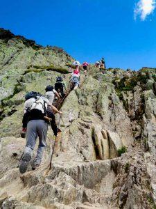 Les échelles · Alpes, Aiguilles Rouges, Vallée de Chamonix, FR · GPS 45°56'14.18'' N 6°50'13.63'' E · Altitude 2344m