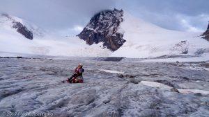 Allalingletscher · Alpes, Alpes valaisannes, Vallée de Saas, CH · GPS 46°2'29.05'' N 7°54'20.75'' E · Altitude 3212m