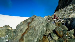 Allalinpass · Alpes, Alpes valaisannes, Vallée de Saas, CH · GPS 46°2'18.22'' N 7°53'25.85'' E · Altitude 3431m