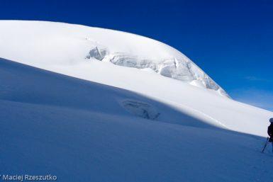 Mellichgletscher · Alpes, Alpes valaisannes, Vallée de Saas, CH · GPS 46°1'25.04'' N 7°52'47.62'' E · Altitude 3905m