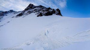 Mellichgletscher · Alpes, Alpes valaisannes, Vallée de Saas, CH · GPS 46°1'25.03'' N 7°52'47.63'' E · Altitude 3904m