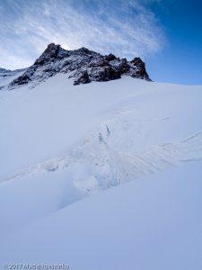 Mellichgletscher · Alpes, Alpes valaisannes, Vallée de Saas, CH · GPS 46°1'25.03'' N 7°52'47.66'' E · Altitude 3905m