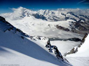 Rimpfischhorn · Alpes, Alpes valaisannes, Vallée de Saas, CH · GPS 46°1'19.91'' N 7°52'57.65'' E · Altitude 4064m
