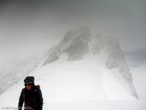 Rimpfischhorn · Alpes, Alpes valaisannes, Vallée de Saas, CH · GPS 46°1'16.73'' N 7°52'46.40'' E · Altitude 3985m