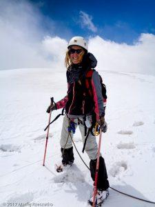 Rimpfischhorn · Alpes, Alpes valaisannes, Vallée de Saas, CH · GPS 46°1'16.73'' N 7°52'46.42'' E · Altitude 3985m