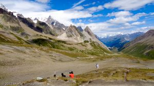 Col de la Seigne · Alpes, Massif du Mont-Blanc, FR · GPS 45°45'4.68'' N 6°48'26.17'' E · Altitude 2553m