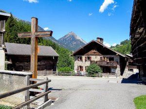 Praz de Fort · Alpes, Massif du Mont-Blanc, CH · GPS 45°59'38.82'' N 7°7'37.98'' E · Altitude 1201m