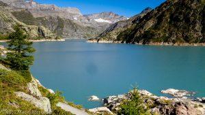 Barrage d'Emosson · Alpes, Préalpes de Savoie, Aiguilles Rouges, FR · GPS 46°3'53.07'' N 6°55'37.64'' E · Altitude 1939m