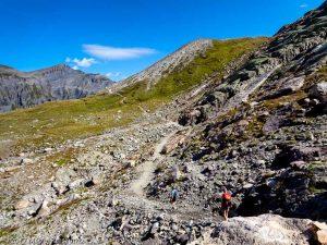 Traces des Dinosaures · Alpes, Préalpes de Savoie, Aiguilles Rouges, FR · GPS 46°2'57.63'' N 6°53'6.88'' E · Altitude 2359m