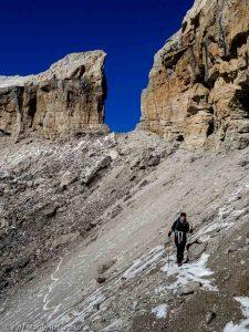 L'envers de la Brèche · Pyrénées, Hautes Pyrénées, Parc National du Mont Perdu, FR · GPS 42°41'21.49'' N 0°1'47.96'' W · Altitude 2618m