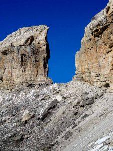 L'envers de la Brèche · Pyrénées, Hautes Pyrénées, Parc National du Mont Perdu, FR · GPS 42°41'19.58'' N 0°1'49.28'' W · Altitude 2628m