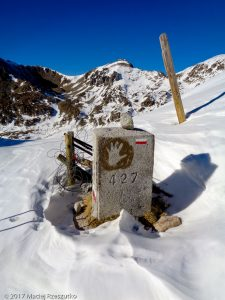 Portella Blanca d'Andorra · Pyrénées, Pyrénées-Orientales, Vallée de Campcardós, FR · GPS 42°30'16.85'' N 1°43'32.35'' E · Altitude 2517m