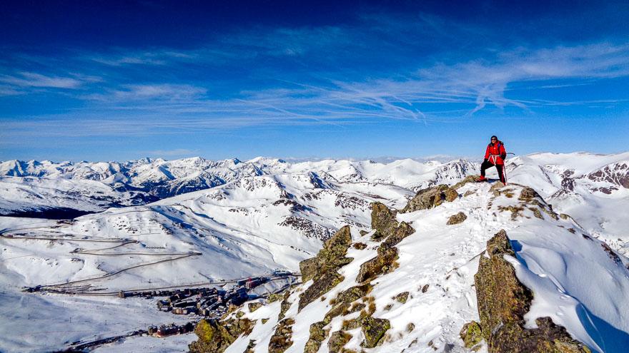 Pic dels Pedrons · Pyrénées, Pyrénées-Orientales, Puymorens, FR · GPS 42°31'55.38'' N 1°45'6.85'' E · Altitude 2715m