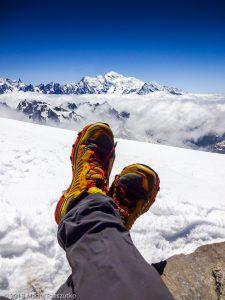 Mont Buet · Alpes, Préalpes de Savoie, Aiguilles Rouges, FR · GPS 46°1'29.45'' N 6°51'8.78'' E · Altitude 3096m