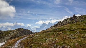 Traversée vers le Brévant · Alpes, Préalpes de Savoie, Aiguilles Rouges, FR · GPS 45°55'30.49'' N 6°49'46.80'' E · Altitude 2242m