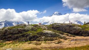Dans la montée à la Tête aux Vents · Alpes, Préalpes de Savoie, Aiguilles Rouges, FR · GPS 45°59'47.99'' N 6°54'47.32'' E · Altitude 2002m