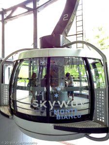 SkyWay · Alpes, Massif du Mont-Blanc, IT · GPS 45°48'57.06'' N 6°57'22.21'' E · Altitude 1302m