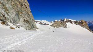 Glacier du Géant · Alpes, Massif du Mont-Blanc, IT · GPS 45°50'45.20'' N 6°55'54.70'' E · Altitude 3445m