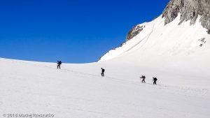 Glacier du Géant · Alpes, Massif du Mont-Blanc, IT · GPS 45°50'54.23'' N 6°55'49.33'' E · Altitude 3415m