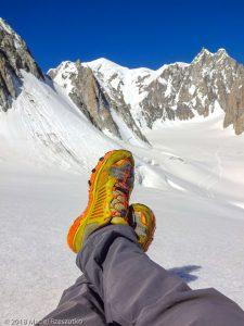 Glacier du Géant · Alpes, Massif du Mont-Blanc, IT · GPS 45°50'58.02'' N 6°55'43.80'' E · Altitude 3405m