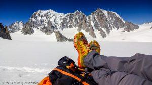 Glacier du Géant · Alpes, Massif du Mont-Blanc, IT · GPS 45°51'20.38'' N 6°56'40.54'' E · Altitude 3328m
