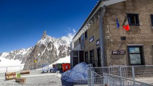 Refuge Torino · Alpes, Massif du Mont-Blanc, IT · GPS 45°50'42.64'' N 6°56'0.35'' E · Altitude 3314m