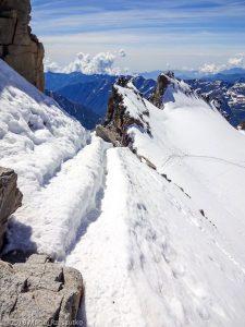 Arête sommitale du Grand Paradis · Alpes, Massif du Grand Paradis, Valsavarenche, IT · GPS 45°31'1.36'' N 7°16'6.05'' E · Altitude 4061m