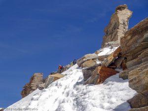 Arête sommitale du Grand Paradis · Alpes, Massif du Grand Paradis, Valsavarenche, IT · GPS 45°30'59.98'' N 7°16'6.93'' E · Altitude 4008m