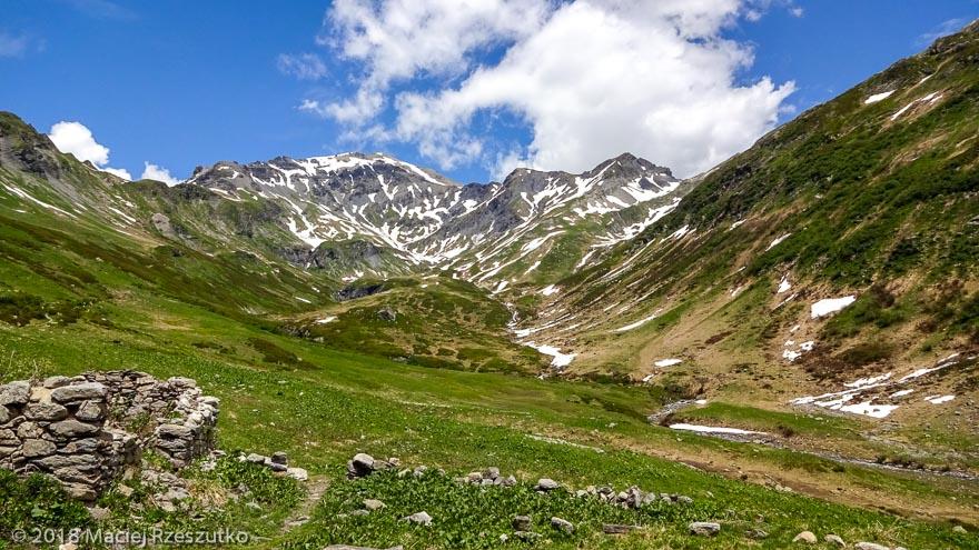 Chalets de Villy · Alpes, Préalpes de Savoie, Aiguilles Rouges, FR · GPS 45°59'30.50'' N 6°49'51.27'' E · Altitude 1859m
