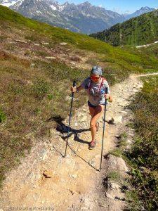 Marathon du Mont-Blanc · Alpes, Massif du Mont-Blanc, Vallée de Chamonix, FR · GPS 46°1'24.55'' N 6°56'50.05'' E · Altitude 2022m