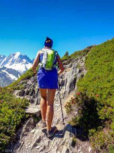 Marathon du Mont-Blanc · Alpes, Massif du Mont-Blanc, Vallée de Chamonix, FR · GPS 46°1'23.57'' N 6°56'44.16'' E · Altitude 2062m