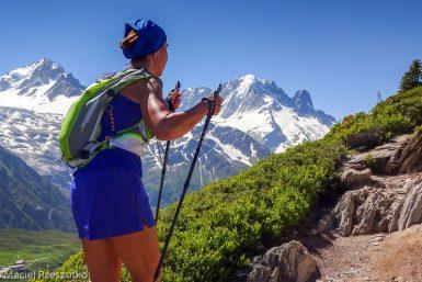 Marathon du Mont-Blanc · Alpes, Massif du Mont-Blanc, Vallée de Chamonix, FR · GPS 46°1'23.55'' N 6°56'43.92'' E · Altitude 2063m