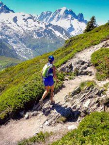 Marathon du Mont-Blanc · Alpes, Massif du Mont-Blanc, Vallée de Chamonix, FR · GPS 46°1'23.57'' N 6°56'43.96'' E · Altitude 2064m