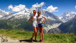 Marathon du Mont-Blanc · Alpes, Aiguilles Rouges, Vallée de Chamonix, FR · GPS 45°57'35.56'' N 6°53'15.13'' E · Altitude 1852m