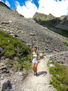 Marathon du Mont-Blanc · Alpes, Aiguilles Rouges, Vallée de Chamonix, FR · GPS 45°57'25.81'' N 6°52'26.83'' E · Altitude 1877m