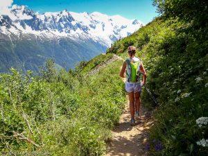 Marathon du Mont-Blanc · Alpes, Aiguilles Rouges, Vallée de Chamonix, FR · GPS 45°57'22.54'' N 6°52'25.60'' E · Altitude 1875m