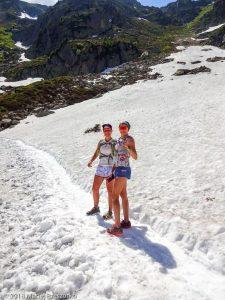 Marathon du Mont-Blanc · Alpes, Aiguilles Rouges, Vallée de Chamonix, FR · GPS 45°56'37.85'' N 6°51'4.04'' E · Altitude 2009m