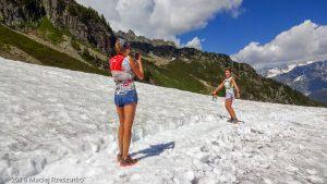 Marathon du Mont-Blanc · Alpes, Aiguilles Rouges, Vallée de Chamonix, FR · GPS 45°56'37.98'' N 6°51'3.99'' E · Altitude 2009m