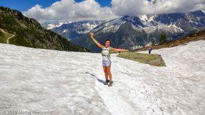 Marathon du Mont-Blanc · Alpes, Aiguilles Rouges, Vallée de Chamonix, FR · GPS 45°56'37.90'' N 6°51'3.82'' E · Altitude 2009m