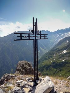 Croix de Fer · Alpes, Massif du Mont-Blanc, Vallée de Chamonix, FR · GPS 46°2'11.54'' N 6°58'34.64'' E · Altitude 2343m