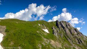 Col de Balme · Alpes, Massif du Mont-Blanc, Vallée de Chamonix, FR · GPS 46°1'42.82'' N 6°58'33.68'' E · Altitude 2055m