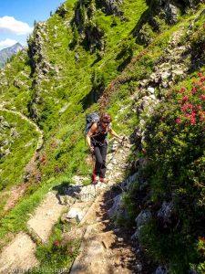 Montée à la Jonction · Alpes, Massif du Mont-Blanc, Vallée de Chamonix, FR · GPS 45°52'57.31'' N 6°51'8.38'' E · Altitude 2107m