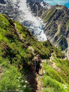 Montée à la Jonction · Alpes, Massif du Mont-Blanc, Vallée de Chamonix, FR · GPS 45°52'57.57'' N 6°51'10.14'' E · Altitude 2127m
