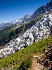 Montée à la Jonction · Alpes, Massif du Mont-Blanc, Vallée de Chamonix, FR · GPS 45°52'53.39'' N 6°51'24.48'' E · Altitude 2193m