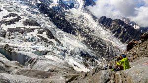 La Jonction · Alpes, Massif du Mont-Blanc, Vallée de Chamonix, FR · GPS 45°52'37.00'' N 6°51'28.61'' E · Altitude 2589m